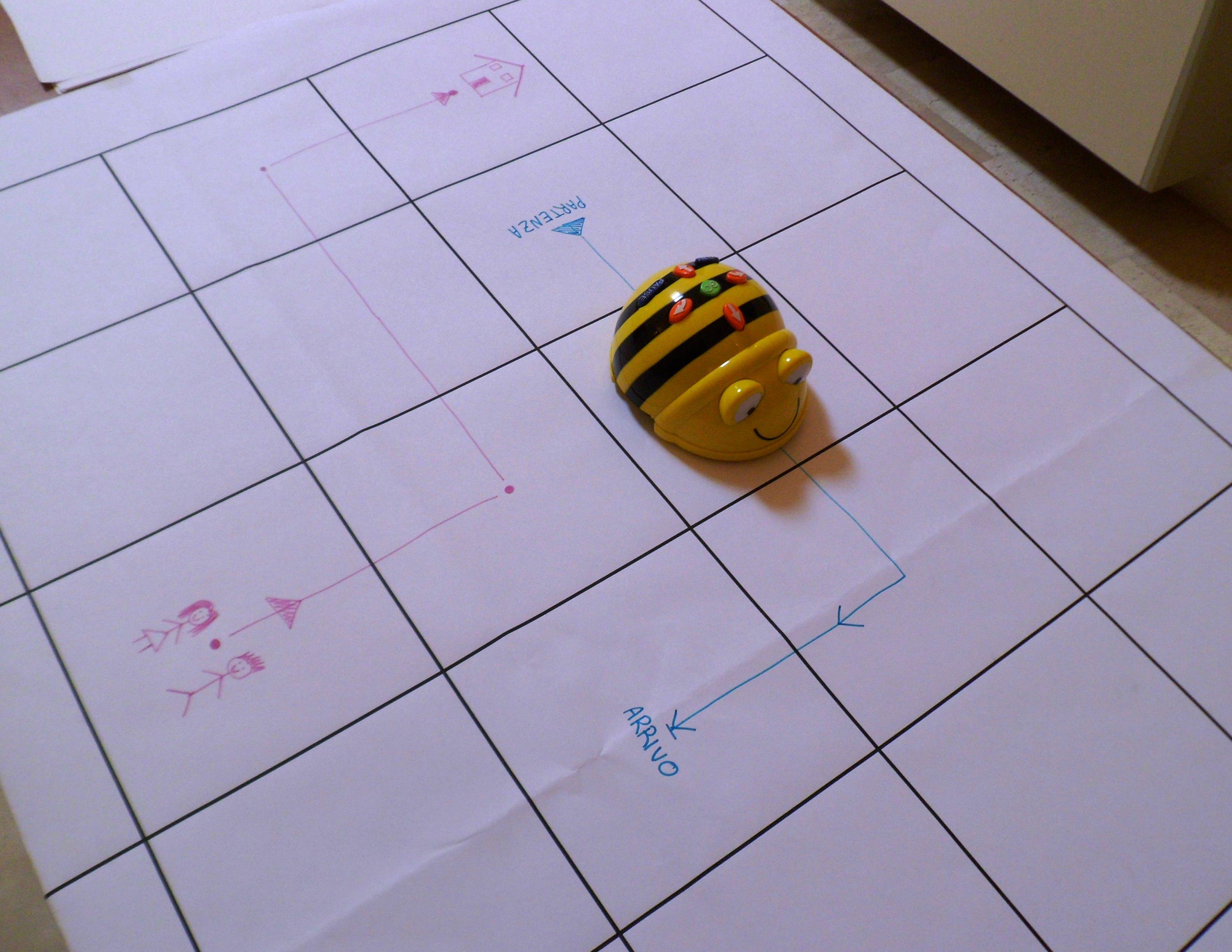 Attività con Bee-bot