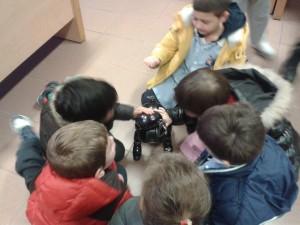 Il Robot Aibo a scuola