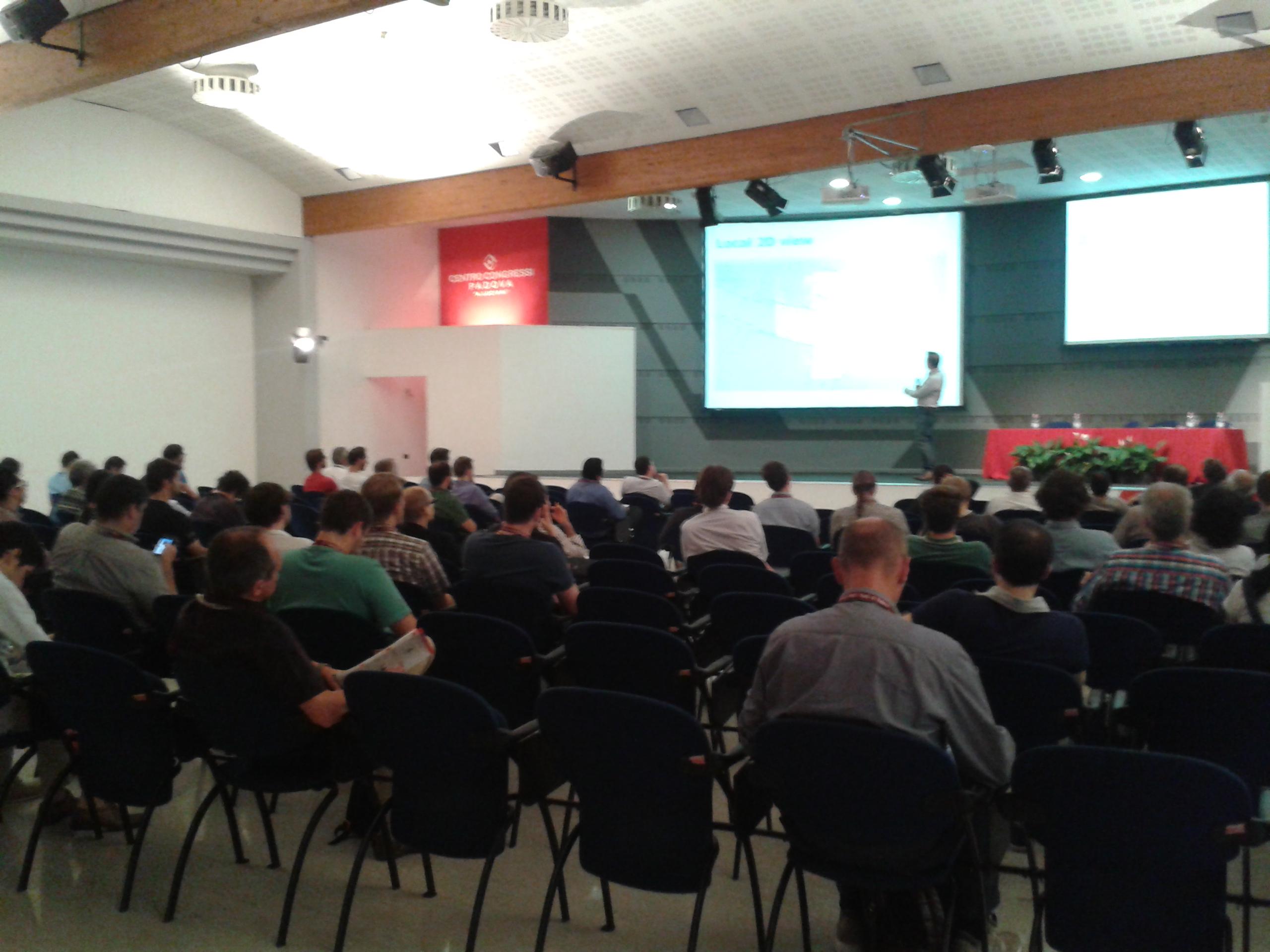Conference TRTWR & RIE Padova